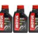 Olio 4t Motul 300v sport 10w40 3x1 lt