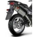 Terminale carbonio non omologato Suzuki dl 650 vstrom