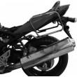 Portavaligie laterale tubolare Givi ad aggancio rapido per valigie monokey side Suzuki gsf 650 bandit e gsf 650 bandit s k9