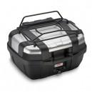 Portapacchino metallico nero per valigia trekker 52 lt.