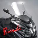 Parabrezza Biondi neutro senza bordo modello club per Yamaha Majesty 400