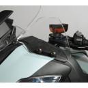 Coppia di paramani Isotta per BMW R1200RT 2010 trasparenti