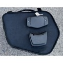 Borse laterali bags and bike fire in pelle con sistema fastclick
