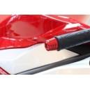 Contrappesi manubrio in lega leggera di alluminio Evotech per MV Agusta