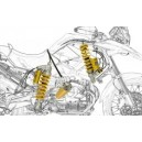 Kit ammortizzatori BMW r 1200 gs sistema mechatronic Ohlins